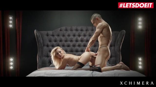 LETSDOEIT - Super Hot Teen Blonde Gets Her Fantasy SEX Session Come True