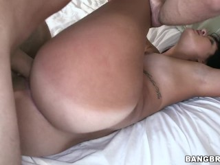 BAOS Big Butt Cheerleader Sophia Steele Does Splits On Big Dick Sean Lawless, Sophia Steele