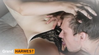 GrandHarwest Licked pussy in beautiful panties