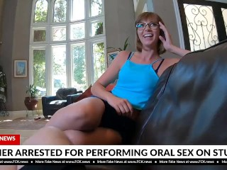 Vagina Medical Clips Fck News - Teacher Arrested For Performing Oral Sex, Brunette Blowjob Reality