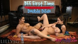 BFF FIRST TIME DOUBLE DILDO - PREVIEW