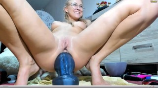 old wife giant dildo porn