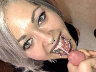 Slut Wifes Tubes Cinnamon Anarchy Sucks Cock And Gets A Mouthful Of Cum In Tight