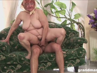 Granny Loves it When I Spit in Her Mouth