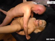 AmateurEuro - Chubby German Blonde Nailed On Tape By Her Sugar Daddy ghettotube