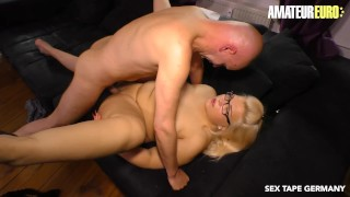 AmateurEuro - Chubby German Blonde Nailed On Tape By Her Sugar Daddy