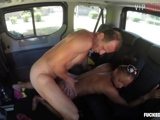 VIPSEXVAULT Kinky Czech Teen Seduced and Fucked By Uber Driver