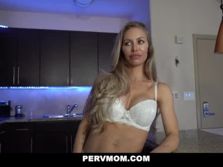 Image PervMom – Perfect Milf Plays With Her Stepson's Big Dick