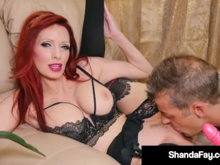 Mature Canadian Muff Shanda Fay Is Pussy Pounded By Hubby Shanda Fay