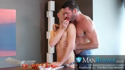 Muscle Daddy Billy Santoro Pounds Amateur Twink Hole Deep After Rimming