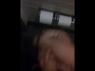 Masterbating in work restroom full video