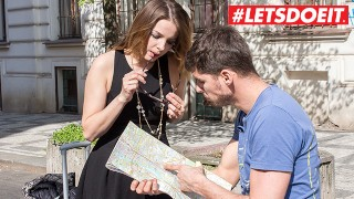 LETSDOEIT – Russian Slut Seduces and Fucks Local Czech Stud