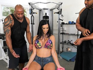 Beach Pussy Video S Fucking, Hot Housewife Jasmine Jae Gets DPd By Black Trainers Big ass Big