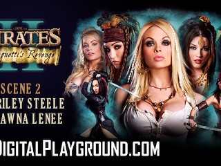 Digitalplayground Wo best porn parody Pirates Hot blonde threesome Ben English, Riley Steele, Shawna Lenee