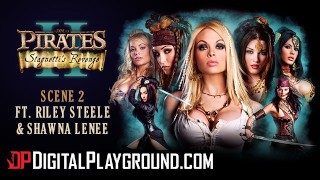 Digitalplayground Worlds best porn parody Pirates Hot blonde threesome