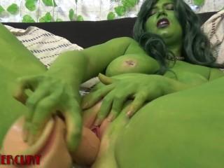 She Hulk Horny