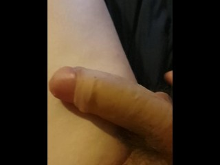 cumshot after not wanking for weeks