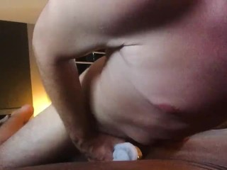 This is how Id fuck you with my big dick Male masturbation with moaning