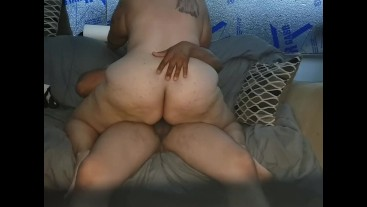 Sexy BBW Latina sucking fucking and gets Creampied