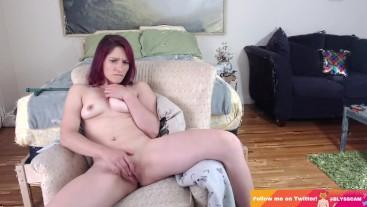 Blyss Steele Finger Fucks Herself in HD