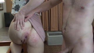 ASS FUCKING THE NEW SECRETARY WITH MY BIG DICK