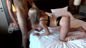 HORNY FIT GIRL FUCKED IN ASS AFTER CUNNILINGUS. SLOPPY BLOWJOB.CUM IN MOUTH