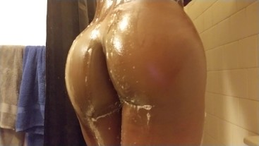 BBC Shower Close Up