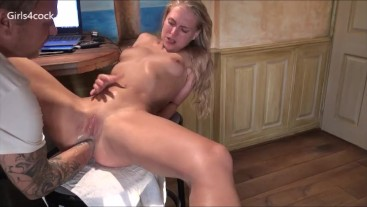 Girls4Cock.com *** Young Slut Getting Fisted Compil