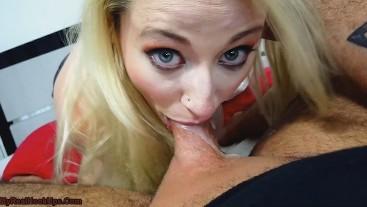 Tinder Slut 1 - Big Titted Tattooed Slut Devours My Cock and Cum