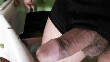 morning masturbation with creamy cumshot