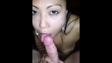 Krystal Davis Smoking Blowjob and Cum Facial
