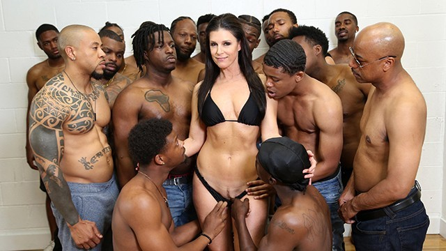 Black dick largest - Dr. india summer conducts her largest group therapy session to date