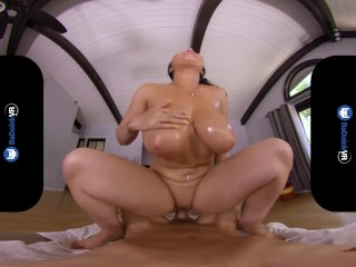 BaDoinkVR Getting Your Chakras Aligned With Inked Babe Romi Rain