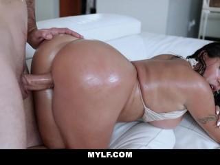 Gof Hot MILF Juliana Vega Gets Her Twat Slammed Julianna Vega