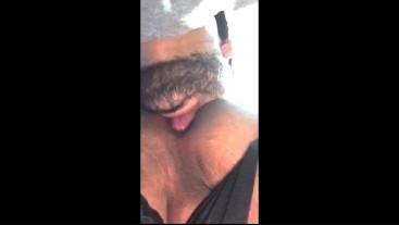 Bearded Dude Eats My WET Ass