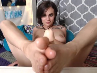 Sole Licking and Footjob