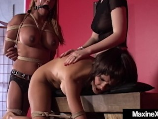 Asian Milf Maxine X Tied Gagged & Fucked With Mexican Hooker main image