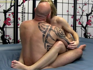 Ella Woods Slides Her Oiled Body Over Guy Strokes and Fucks Ella Woods, Michael Masters