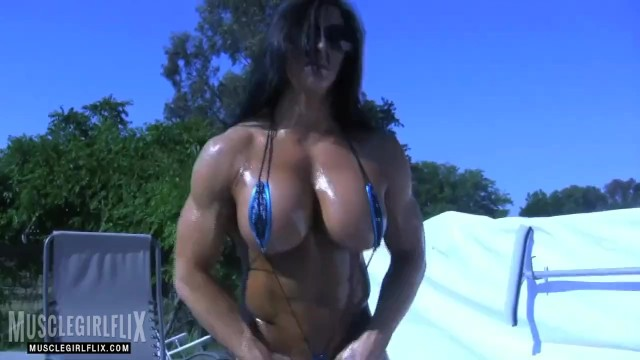 Sexy hardbodied whores Oiled up sexy as fuck female bodybuilder