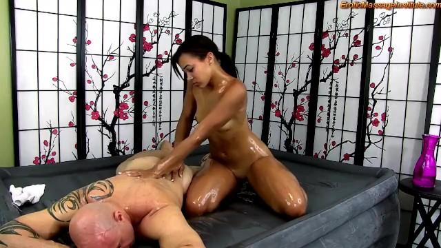 Body slide erotic massage Erotic oiled up massage, blowjob, and sex with ebony beauty adriana maya
