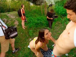 FULL VIDEO Amateur Public Sex for a Crew of Film Makers eetApple MySweetApple