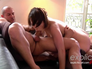 She has gone mad and tests her limits with two guys anal DP squirting Ian Scott, Mike Angelo, Nikita Bellucci