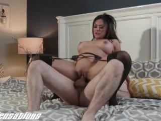 New Sensations – Busty Asian MILF Kaylani Lei Fucking Younger Cock