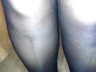 ❥ Please cum on my feet in stockings❣ SanyAny