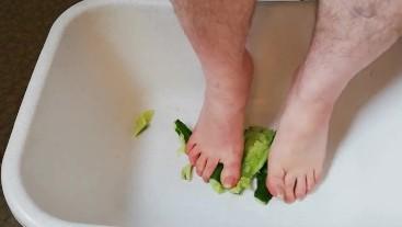 Fun with cucumber