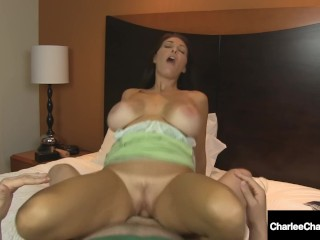 Puerto Rico Cock Fucking, Busty Cougar Charlee Chase Bangs Lucky Fan With 2 Pussies? Big Tits Blonde