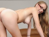 BANGBROS - Young Blonde Cutie Emily Harper Needs Money For College