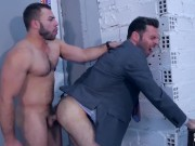 Diego Reyes and Dario Beck fuck Hard before shooting lots of thick cum