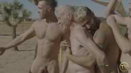 Hot Grandpa Hooks Up With Porn Stars - Calvin Banks, Alex Mecum, Max Adonis