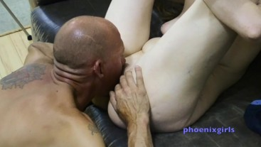 Pussy Eating demonstration. Brand new young babe!